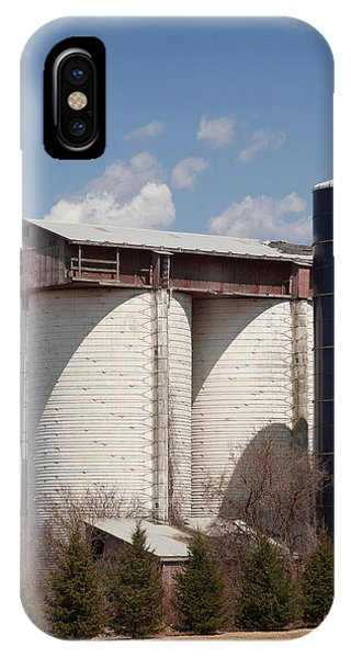 Silo House With A View - Color IPhone Case