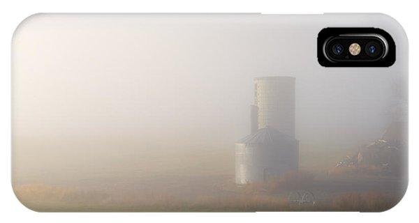 Silo iPhone Case - Silo In The Fog by Mike  Dawson