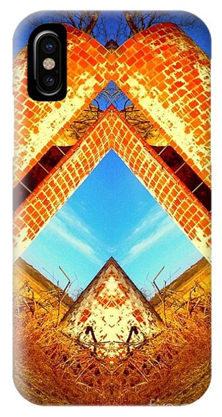 Silo Pyramid IPhone Case