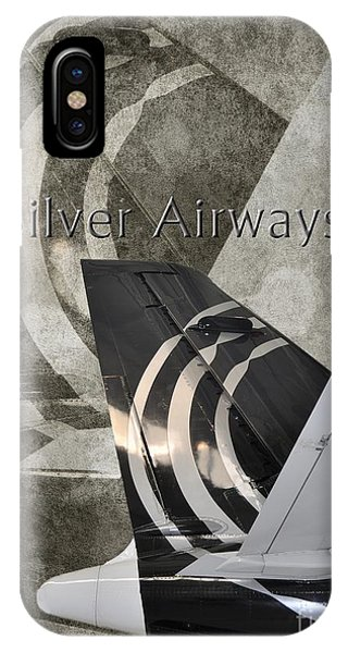 Silver Airways Tail Logo IPhone Case
