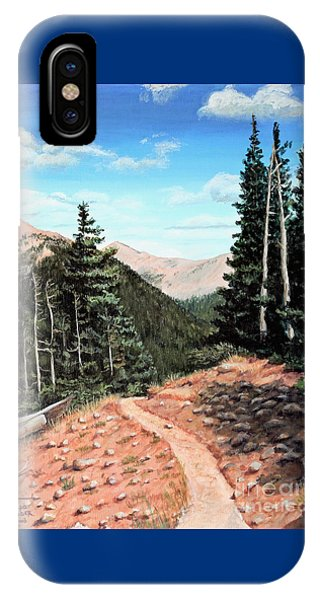 Silver Dollar Trail Colorado IPhone Case