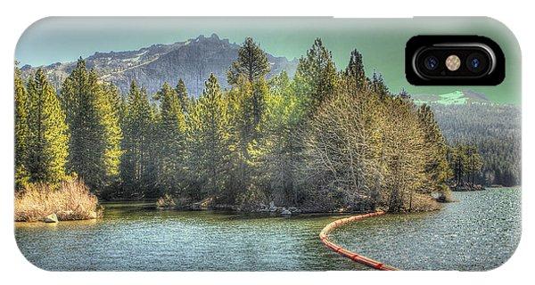 Silver Lake 3 IPhone Case