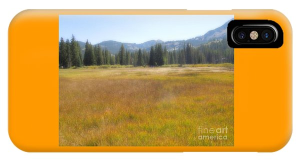 Silver Lake Area Big Cottonwood Canyon Utah IPhone Case