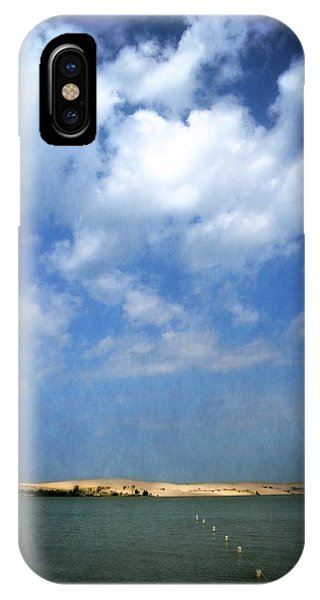 Silver Lake Sand Dunes 2.0 IPhone Case