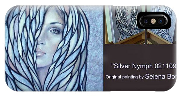 Silver Nymph 021109 Comp IPhone Case