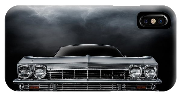 Chevrolet iPhone Case - Silver Sixty Five by Douglas Pittman