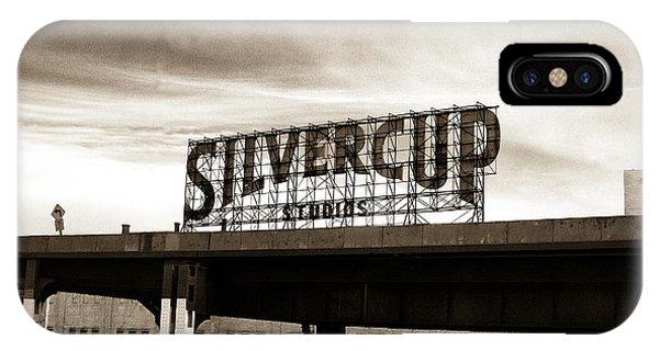 Silvercup Studios IPhone Case
