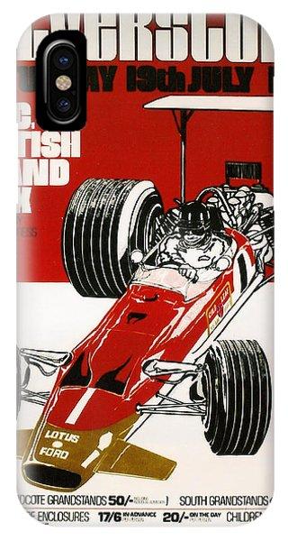 Silverstone Grand Prix 1969 IPhone Case