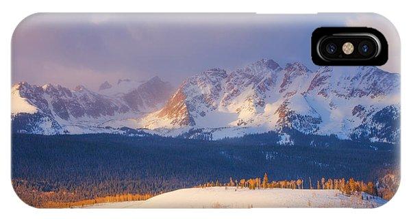 Silverthorne Sunrise IPhone Case