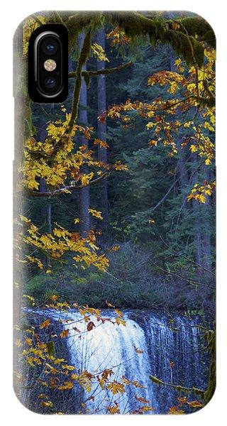 Silverton Falls Oregon IPhone Case