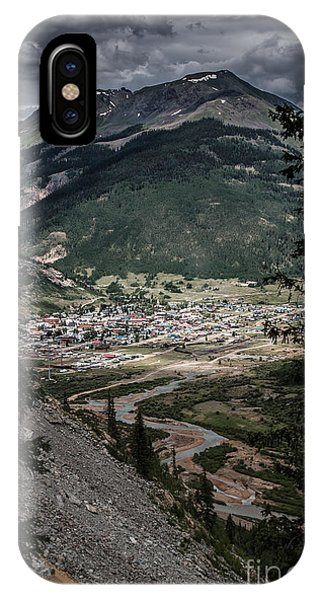 Silverton View From Above IPhone Case