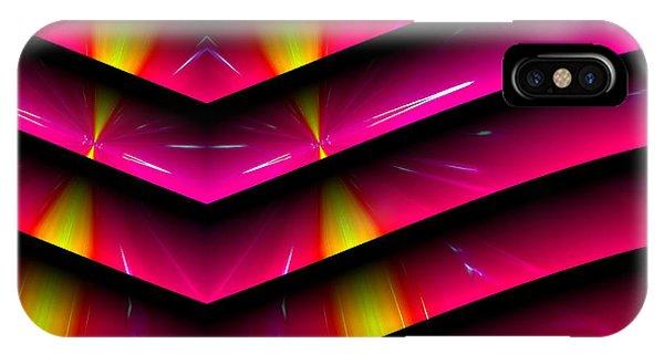 IPhone Case featuring the digital art Simple Math by Visual Artist Frank Bonilla