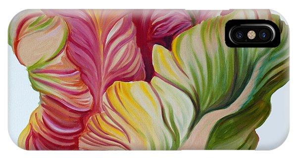 Simple Tulip IPhone Case
