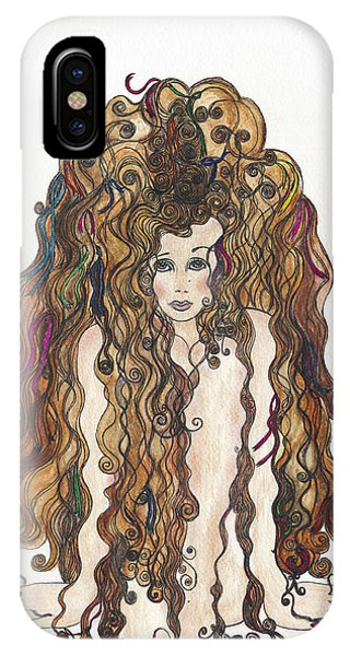 Lupita iPhone Case - Simply by Lupita Fernandez Soberon