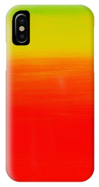 Simply Rasta IPhone Case