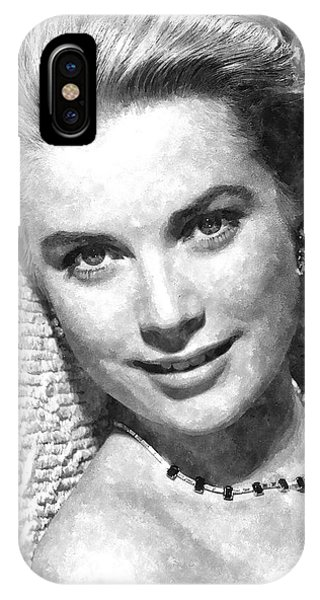 Simply Stunning Grace Kelly IPhone Case