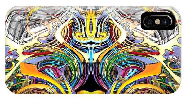 Simulated Beats B Vector 6  IPhone Case