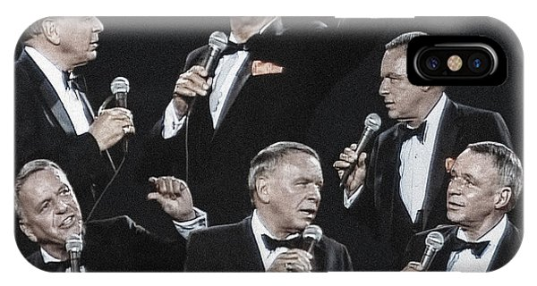 Sinatra In Concert IPhone Case