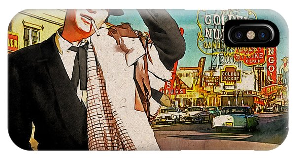 Sinatra In Vegas 1955 IPhone Case