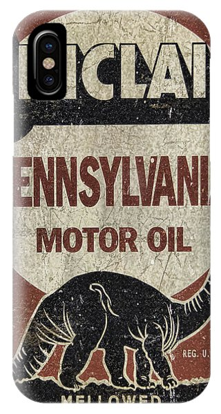 Sinclair Motor Oil Can IPhone Case
