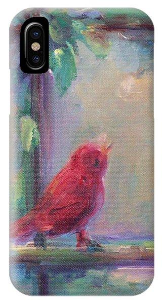 Sing Little Bird IPhone Case