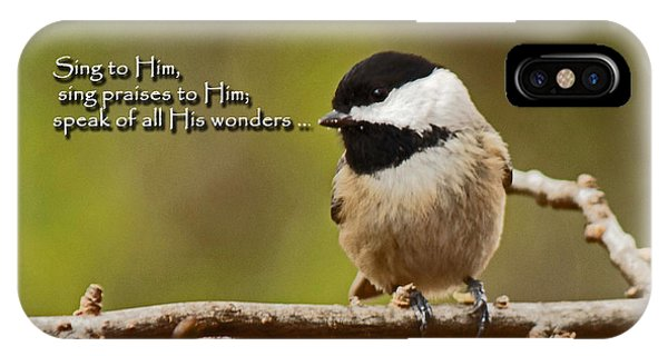 Sing To Him IPhone Case