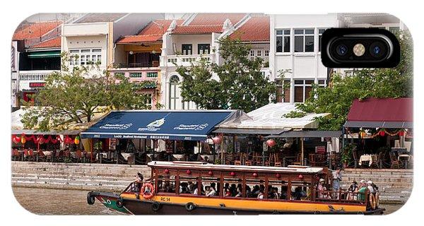 Singapore Boat Quay 04 IPhone Case