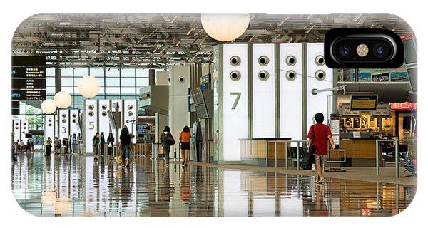 Singapore Changi Airport 02 IPhone Case