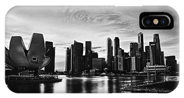 Sunny iPhone Case - Singapore Marina by Sunny Merindo