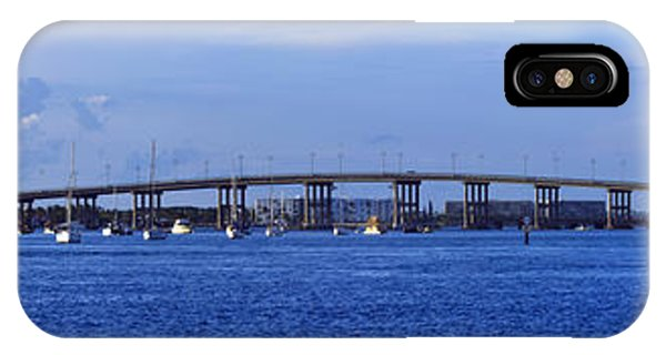 Singer Island Bridge IPhone Case