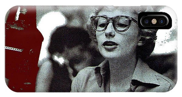 Singer Pianist Blossom Dearie  No Known Date IPhone Case