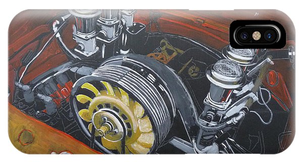 Singer Porsche Engine IPhone Case