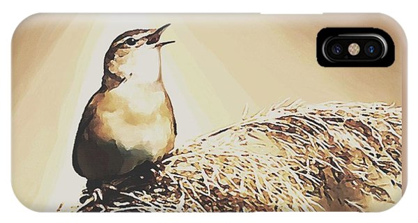 Singing My Heart Out IPhone Case
