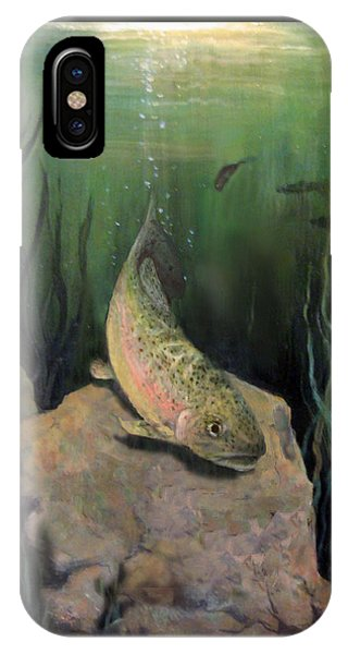Single Trout IPhone Case