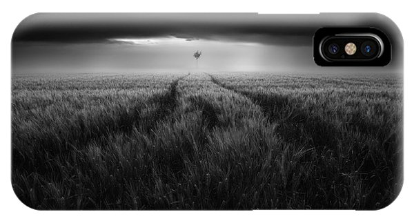 Agriculture iPhone Case - Singularity #2 by Luca Rebustini