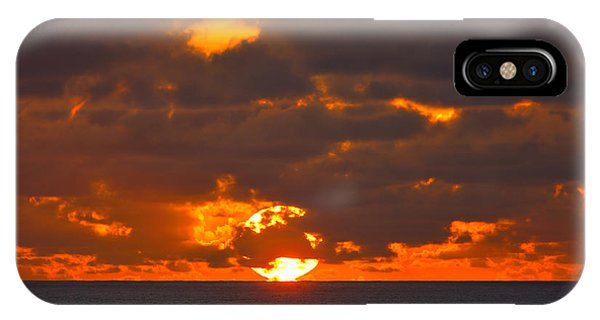 Sinking In The Sea IPhone Case