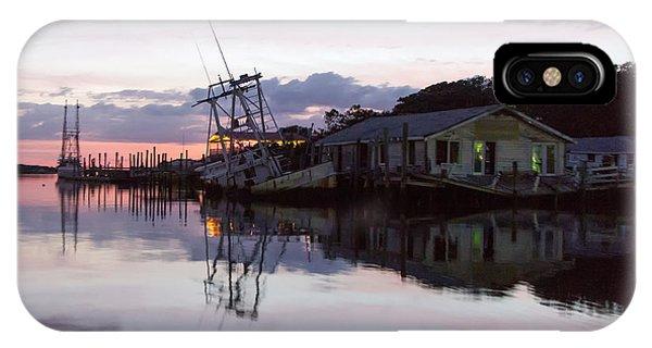Sinking Sun Sunken Boat IPhone Case