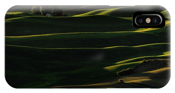 Rural America iPhone Case - Sinuous by Lydia Jacobs