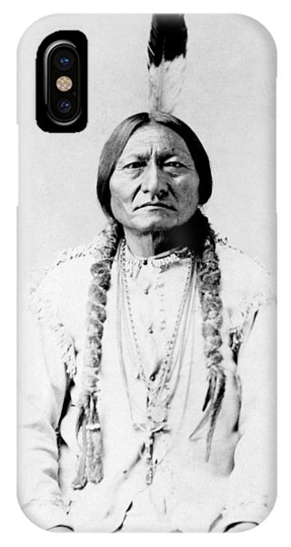American iPhone Case - Sioux Chief Sitting Bull by War Is Hell Store