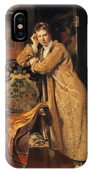 Dressing iPhone Case - Sir David Wilkie 1785-1841, 1816 Panel by Andrew Geddes