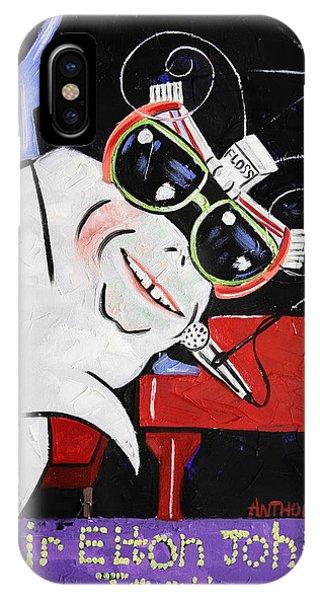 Sir Elton John Tooth  IPhone Case