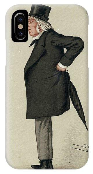 Sir Francis Hastings  Charles Doyle Phone Case by Mary Evans Picture Library