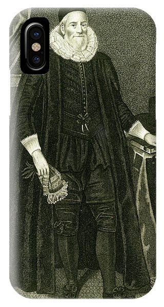Sir Henry Savile  Scholar And Greek Phone Case by Mary Evans Picture Library