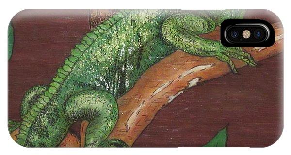 Sir Iguana IPhone Case