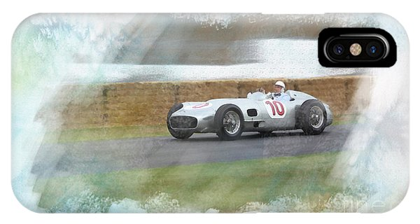 Sir Stirling Moss IPhone Case