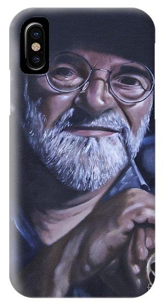 Sir Terry Pratchett IPhone Case