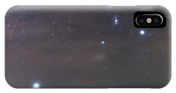 Sirius Rising With Orion Phone Case by Tommy Eliassen