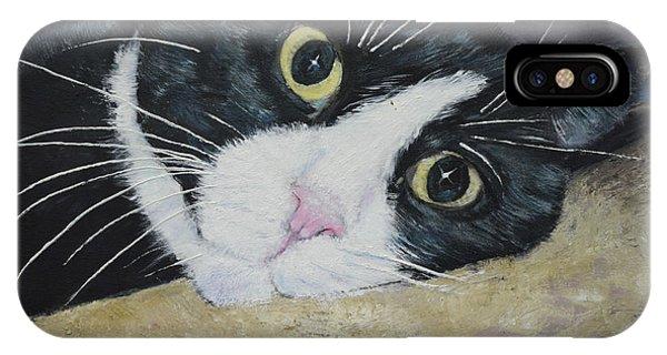 Sissi The Cat 3 IPhone Case