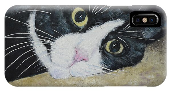 Sissi The Cat 3 IPhone Case