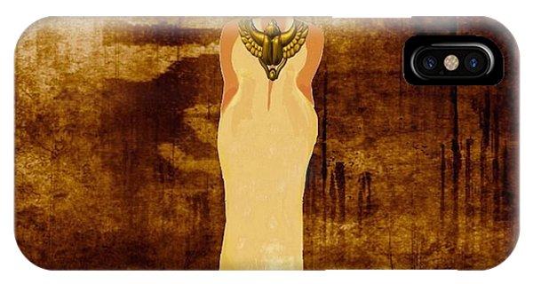 Sista Scarab Goddess IPhone Case